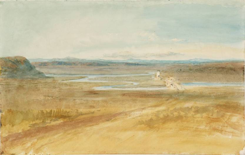 View over the Roman Campagna 1819 by Joseph Mallord William Turner 1775-1851